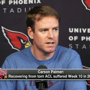 Arizona Cardinals quarterback Carson Palmer: 'I'll definitely be ready for camp'