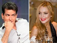 Sheen & Lohan for &quot;Scary Movie 5&quot;