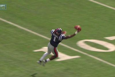 Laquon Treadwell makes one of history's smoothest one-handed catches