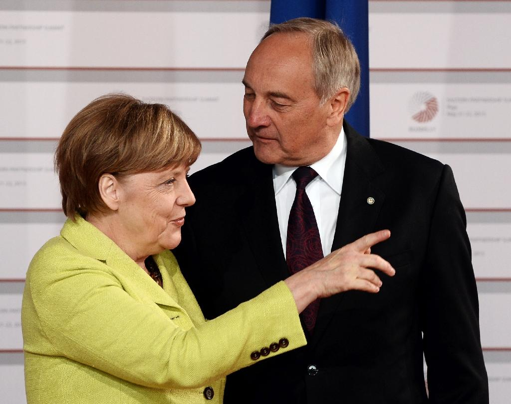 Merkel sets tough line at EU summit with eastern partners