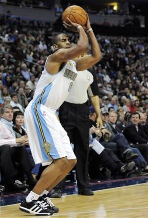 Afflalo has 20 points, leads Nuggets past Suns