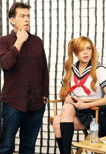 Charlie Sheen and Lindsay Lohan | Photo Credits: FX