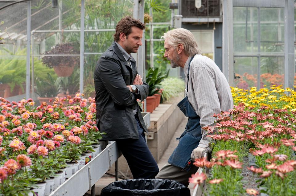 "This film image released by CBS Films shows Bradley Cooper and Jeremy Irons in a scene from ""The Words."" (AP Photo/CBS Films, Jonathan Wenk)"