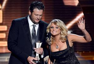 Blake Shelton and Miranda Lambert | Photo Credits: Ethan Miller/Getty Images