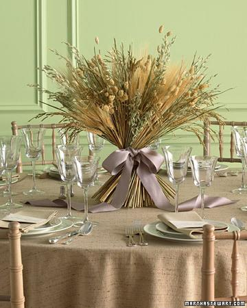 Rustic Harvest Centerpiece