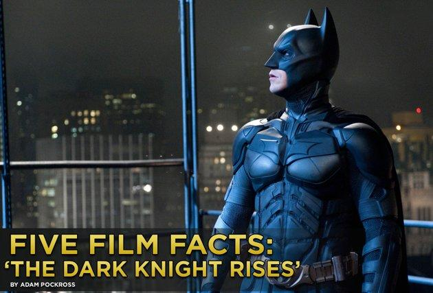 Dark Knight Rises Facts