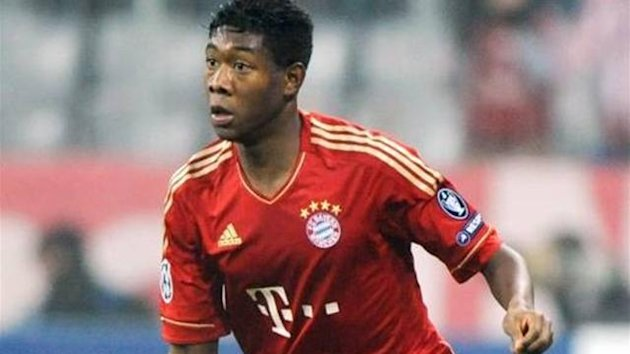 Bayern Munich&#39;s David Alaba