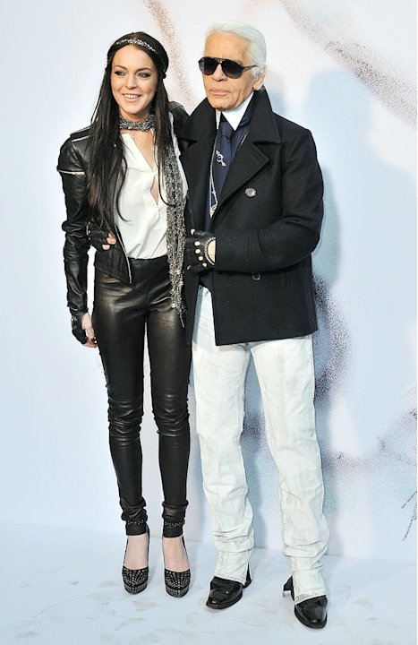 Lohan Lagerfeld ParisFW