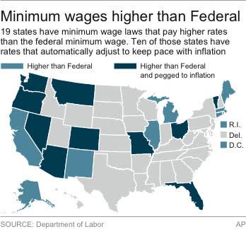 Obama minimum wage plan renews economic debate