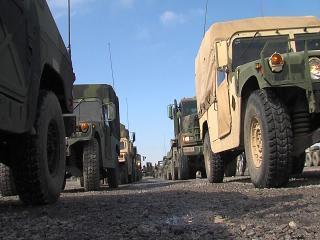 Troops prepare for deployment