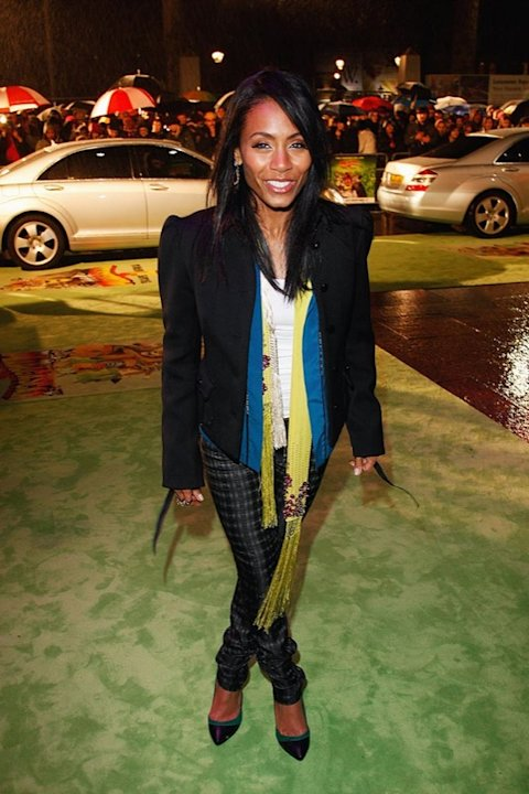 Jada Pinkett Smith attends the UK Premiere of 'Madagascar: Escape 2 Africa' at Empire Leicester Square on November 23, 2008 in London, England. Jada Smith
