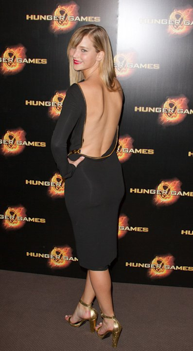 The Hunger Games Paris Premiere Jennifer Lawrence