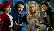 The posters from 'Oz The Great and Powerful' -- Disney