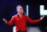 British singer-songwriter Morrissey performs during the International Song Festival in Vina del Mar city, about 121 km northwest of Santiago in this February 24, 2012 file photo. REUTERS/Eliseo Fernandez/Files