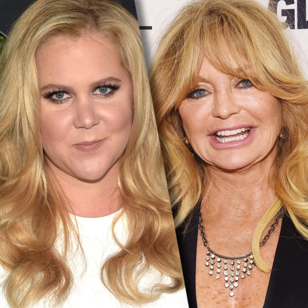 Goldie Hawn Might Be Coming Out of Retirement to Play Amy Schumer's Mom in Kidnapping Comedy