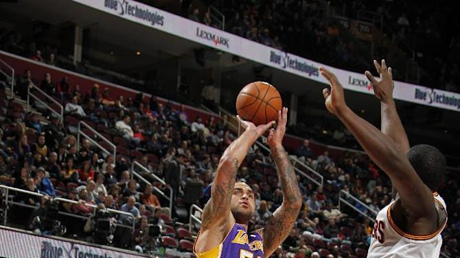 Depleted Lakers beat Cavaliers 119-108