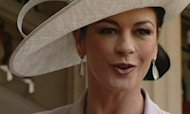 Catherine Zeta-Jones goes to Buckingham Palace