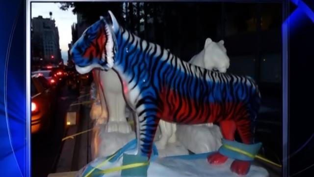 Valuable ceramic tigers stolen in NYC