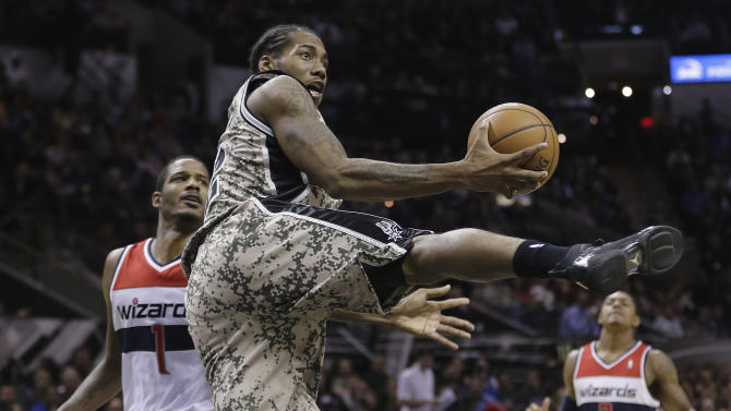 Parker leads Spurs to 92-79 win over Wizards