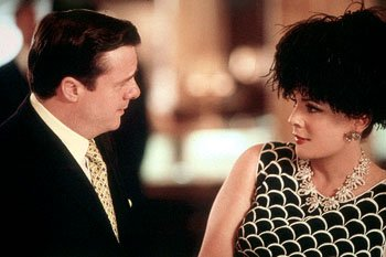 Nathan Lane as Irving Mansfield and Stockard Channing as his best friend, actress Florence Maybelle, in Universal's Isn't She Great