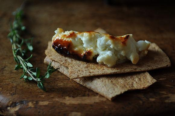 Roasted Feta with Thyme and Honey