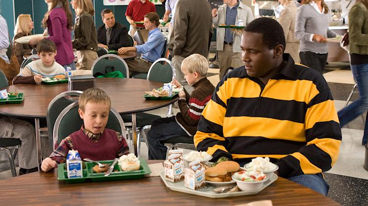 The Blind Side Production Photos 2009 Warner Bros. Jae Head Quinton Aaron