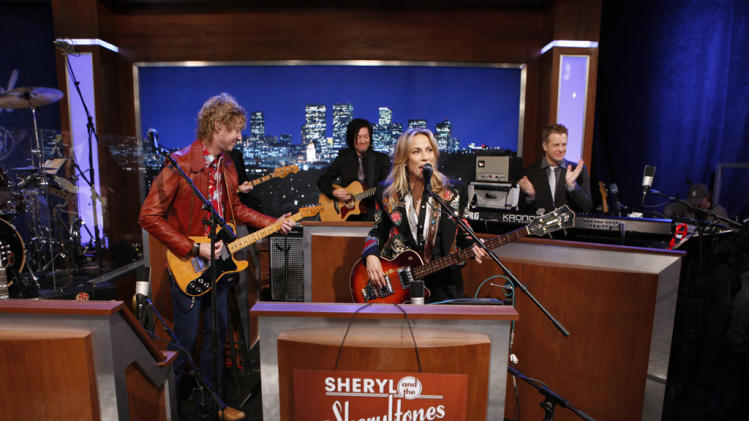 JIMMY KIMMEL LIVE - SHERYL AND THE SHERYLTONES