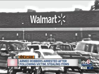 Police: Robbery team stalks Indy shopper at Wal-Mart before stealing her purse, cell phone