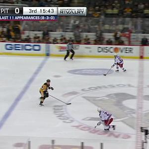 Moore's goal extends lead