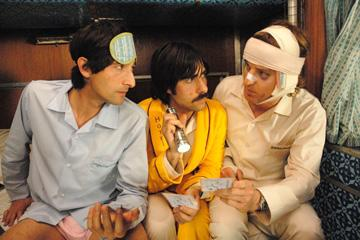 Adrien Brody , Jason Schwartzman and Owen Wilson in Fox Searchlight's The Darjeeling Limited