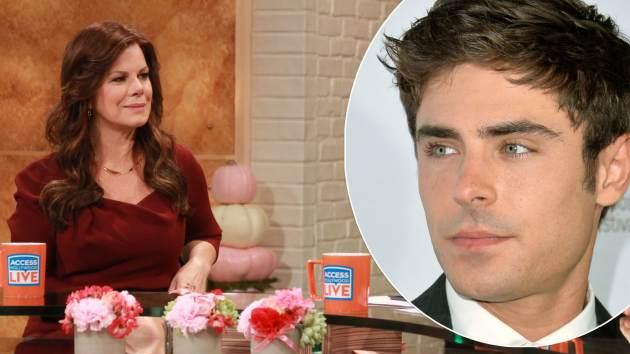 Marcia Gay Harden / Zac Efron -- Access Hollywood / Getty Images