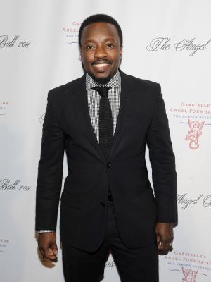 "FILE - In this Oct. 17, 2011 file photo, Anthony Hamilton attends the Gabrielle's Angel Foundation for Cancer Research ""Angel Ball"" honors gala at Cipriani's Wall St. in New York.  Hamilton released his fifth album in December 2011, it did not receive the same amount of attention compared to his previous efforts.  So Hamilton was extremely surprised when he got a call from his manager, letting the 41-year-old singer know that he had been nominated for two Grammy Awards, including best R&B album for ""Back to Love.""  (AP Photo/Evan Agostini)"