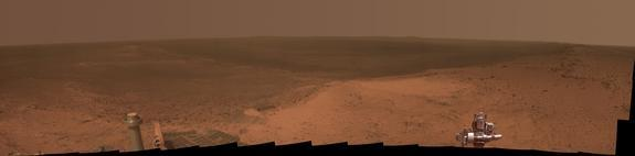 Mars Rover Opportunity Marks 11-Year Anniversary with Stunning Photo