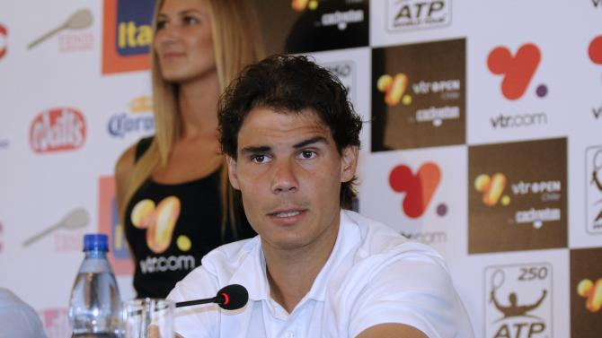TENNIS-CHILE-NADAL
