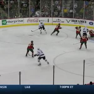 Darcy Kuemper Save on Drew Doughty (01:19/1st)