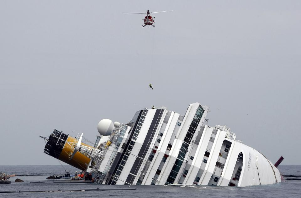 Italy: 5 convicted for Costa Concordia shipwreck