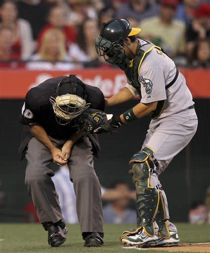 Tyson Ross, A's relievers blank Pujols' Angels 5-0
