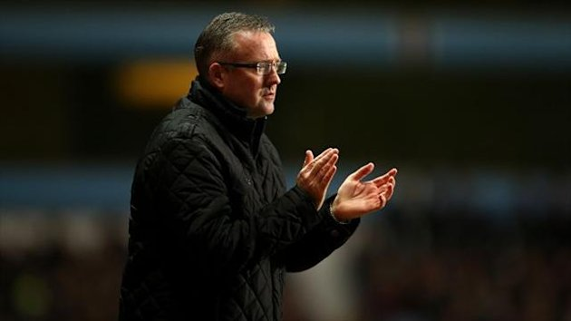 Paul Lambert defended his comments after the match