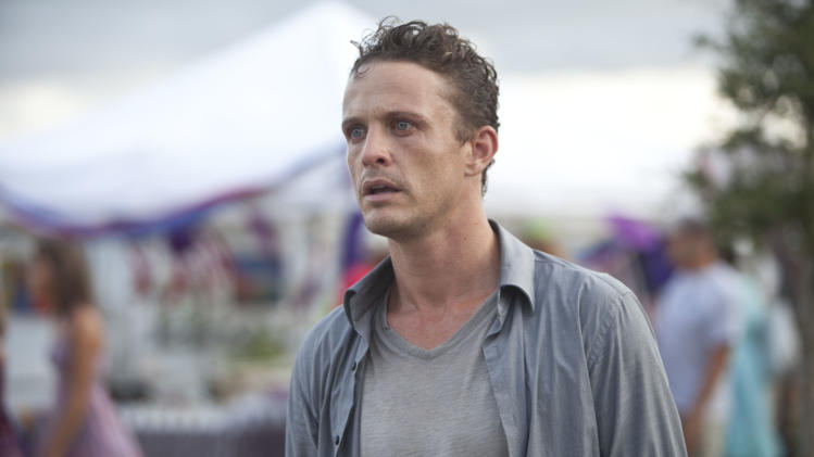 "This film image released by Relativity Media shows David Lyons in a scene from ""Safe Haven."" (AP Photo/Relativity Media, James Bridges)"