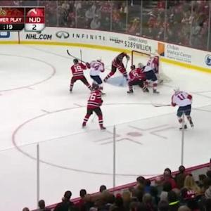 Keith Kinkaid Save on Jonathan Huberdeau (15:17/2nd)