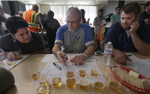 State Fair Beer Judging
