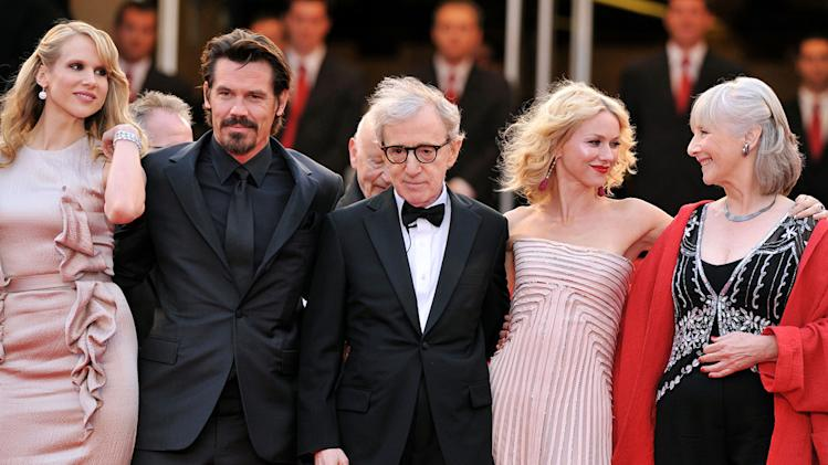 63rd Annual Cannes Film Festival 2010 Lucy Punch Josh Brolin Woody Allen Naomi Watts Gemma Jones