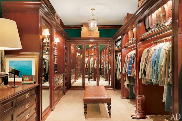 Peek into the closets of the stars ralph lauren