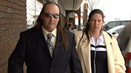 The couple kept Gagnon locked up in a number of places on their property, according to the agreed statement of facts - including in a chicken hutch and an unheated school bus.