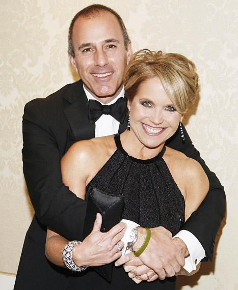 "Matt Lauer Calls Katie Couric ""Very Attractive,"" Rates Her a ""9 or 10"""