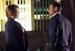 Hannah Ware, Stuart Townsend | Photo Credits: Jean Whiteside/ABC