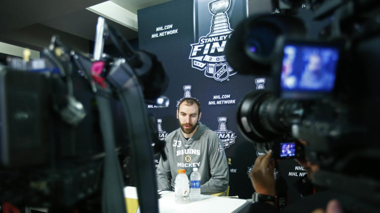 NHL: Stanley Cup Final-Boston Bruins Media Day