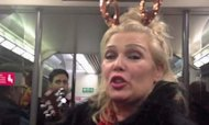 Kim Wilde Singing On Train Video Goes Viral