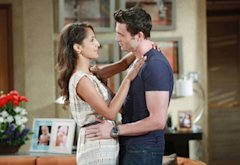 Christel Khalil and Daniel Goddard | Photo Credits: CBS