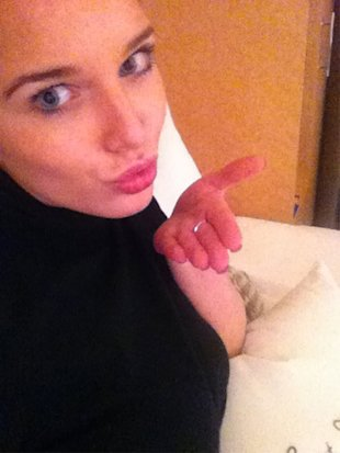Coronation Street's Helen Flanagan 'Embarrassed' About Her Boobs